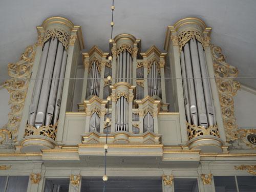 Plambeck-Orgel von 1733
